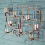 Contemporary Tealight Metal Wall Art by Gardman