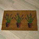 Lavandula Design Coir Doormat by Gardman