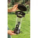 Heavy Duty Large Fliptop Seed Bird Feeder by Gardman