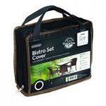 Bistro Set Cover Black (Premium) in Black by Gardman