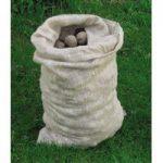 Pack of 10 Large Hessian Jute Potato Storage Sacks