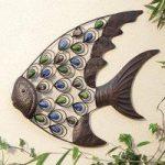 Tropical Fish Metal Wall Art by Gardman