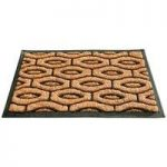 Windermere Design Rubber Backed Coir Doormat by Gardman