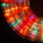 5m Multi Coloured Multi Action Rope Christmas Lights by Kingfisher