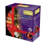 10m Multi Coloured Multi Action Rope Christmas Party Lights by Kingfisher