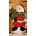 Large Snowman Colour Changing Decoration Ornament by Gardman