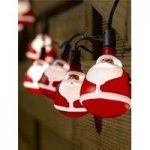 10 LED Santa String Lights (Battery) by Smart Garden