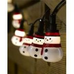 10 LED Snowman String Lights (Battery) by Smart Garden