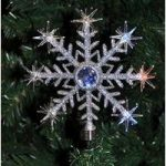 Superbright Colour Changing LED Christmas Tree Topper Star Light by Kingfisher