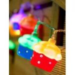 10 LED Cupcake String Lights (Battery) by Smart Garden