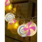 10 LED Sweet Lollipop String Lights (Battery) by Smart Garden