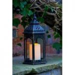 Moroccan Battery Operated Candle Lantern by Smart Solar