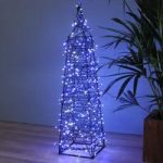 360 LED Blue & White Multi Function String Lights (Mains) by Snowtime