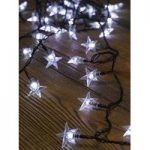 100 LED White Star String Lights (Battery) by Smart Garden
