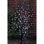 150cm White Blossom Tree 120 LED (Battery) by Smart Garden