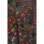 90cm Red Acer Light Tree 60 LED (Battery) by Smart Garden