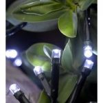 100 LED White String Lights (Battery) by Smart Garden