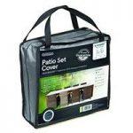 8 Seater Rectangular Patio Set Cover (Premium) In Grey by Gardman