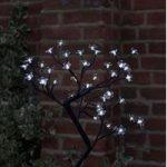 45cm White Blossom Tree 40 LED (Battery) by Smart Garden