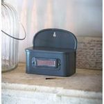 Tinder Match Box in Charcoal by Garden Trading
