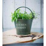 Large Kitchen Garden Bucket in Thyme by Garden Trading