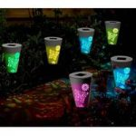 Butterfly Colour Changing Stake Lights Pack of 6 (Solar) by Smart Solar