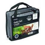 4 Seater Round Patio Set Cover (Premium) in Grey by Gardman