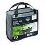 6 Seater Round Patio Set Cover (Premium) in Grey by Gardman