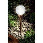 Ice Orb Light (Solar) in Copper by Gardman