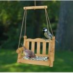 Swing Seat Wooden Bird Feeder Bird Table by Wildlife World