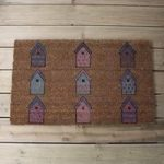 Birdhouse Design Coir Doormat by Gardman