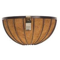 Metal Basket Wall Trough Tom Chambers 40cm Handforged Hayrack /& Coco liner