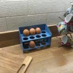 Tala Egg Storage Rack Blue Enamel Metal by George East