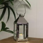 Milan Tealight Candle Lantern by Gardman