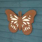 Flutterby Butterfly Shaped Garden Mirror by Smart Garden