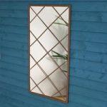 Large Rectangular Vista Garden Mirror by Smart Garden