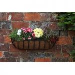 Forge Wall Trough Planter (60cm) by Smart Garden