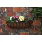 Forge Wall Trough Planter (92cm) by Smart Garden