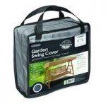 3 Seater 2m Swing Bench Hammock Cover (Premium) in Grey by Gardman