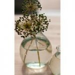 Large Recycled Glass Vase by Garden Trading