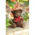 Rattan Teddy Decorative Garden Bear by Smart Garden