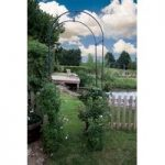 Metal Oxford Garden Arch by Smart Garden