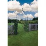 Metal York Garden Arch by Smart Garden