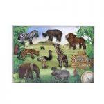 Safari Animal Shape Cookie Cutter Set by Eddingtons