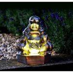 Golden Buddha Figurine Light (Solar) by Smart Solar
