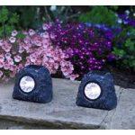 Rock Spotlights Pack of 4 (Solar) by Smart Solar