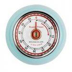 Retro Magnetic Kitchen Timer – Sax Blue by Eddingtons