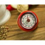 Retro Magnetic Kitchen Timer – Red by Eddingtons