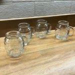 Family Recipe Glass Barrel Mugs – Set of 4 by Eddingtons