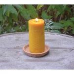 Real Beeswax Candle by Fallen Fruits